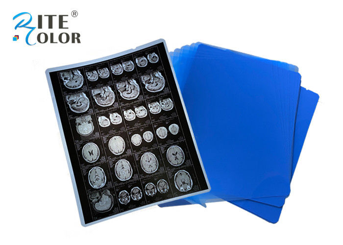 PET Base X Ray Sheet Film Radiology Imaging Film For DR CT 100 Sheets Per Pack